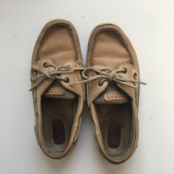 Womens Sperry Topsider Boat Shoe Size 7